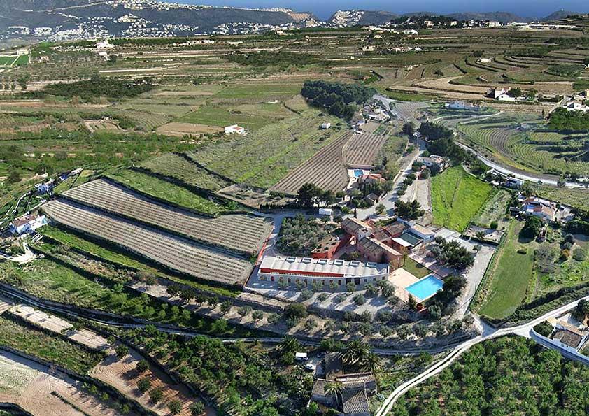 Das Resort Cases de Sant Jaume in der Übersicht