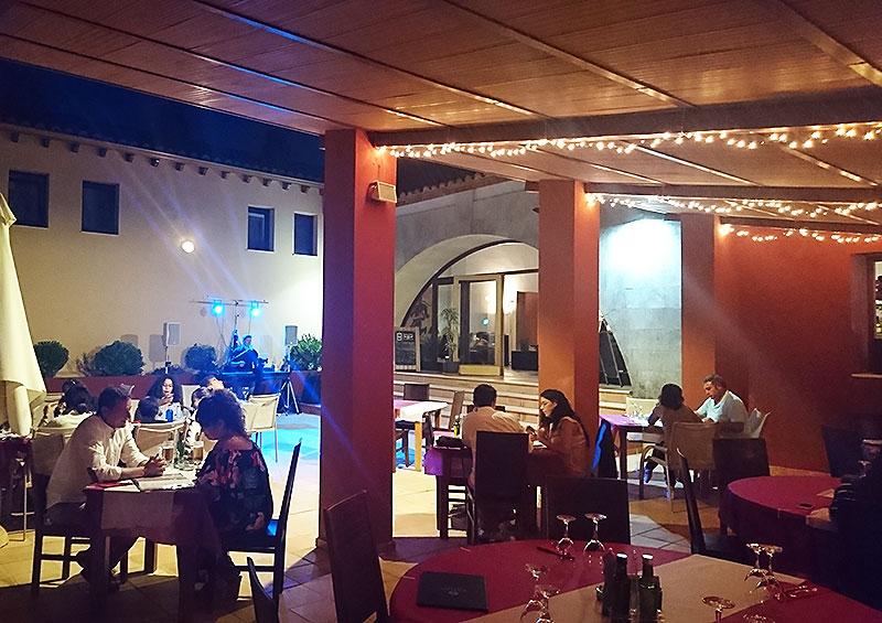 Cases de Sant Jaume Restaurant Aussenbereich