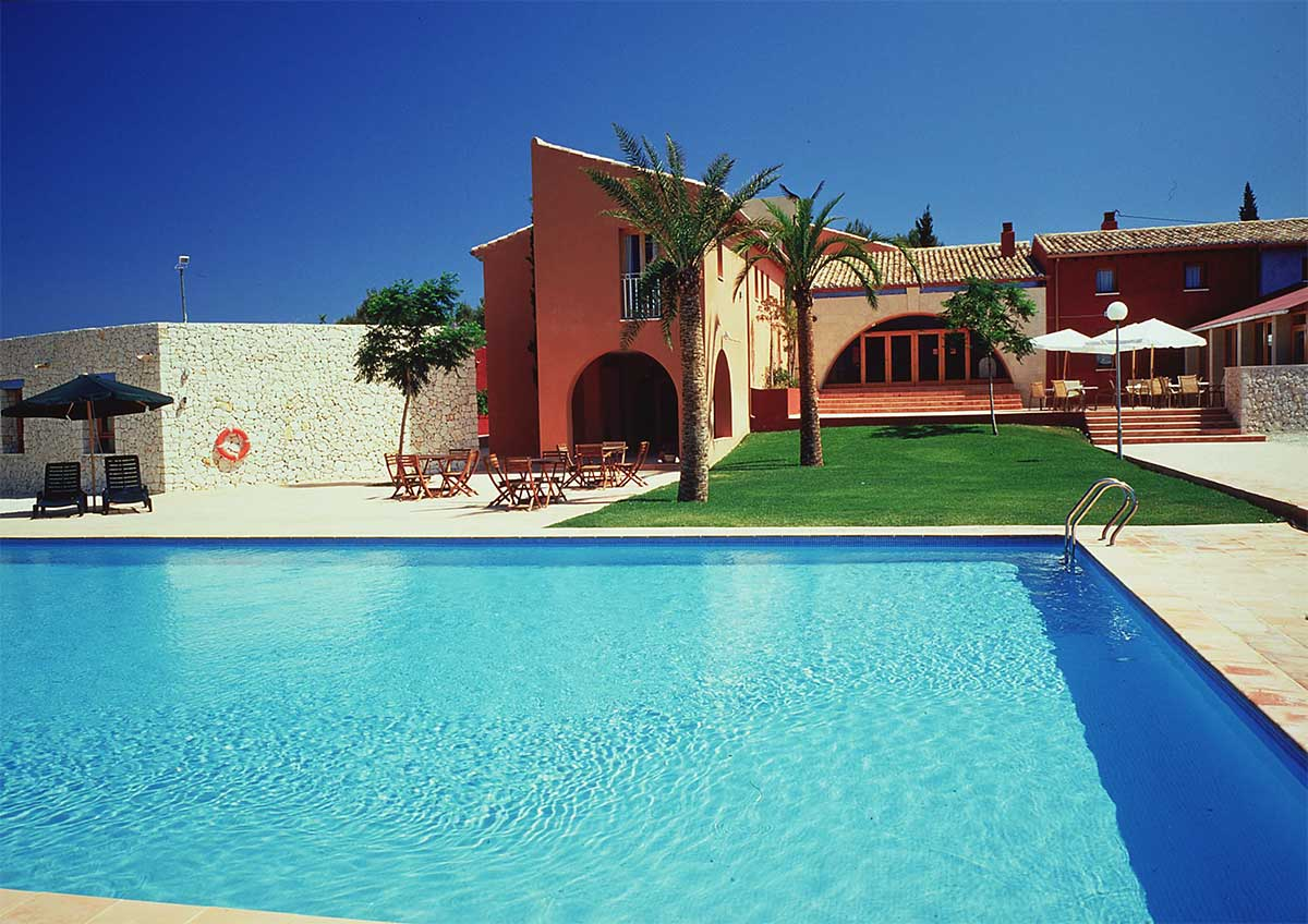 Pool im Cases de Sant Jaume