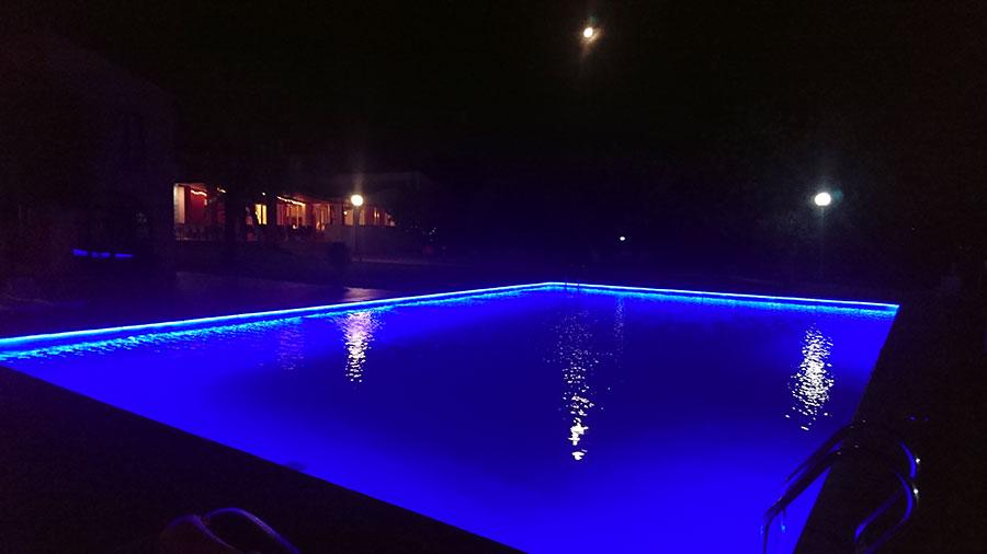 Am Pool im Cases de Sant Jaume