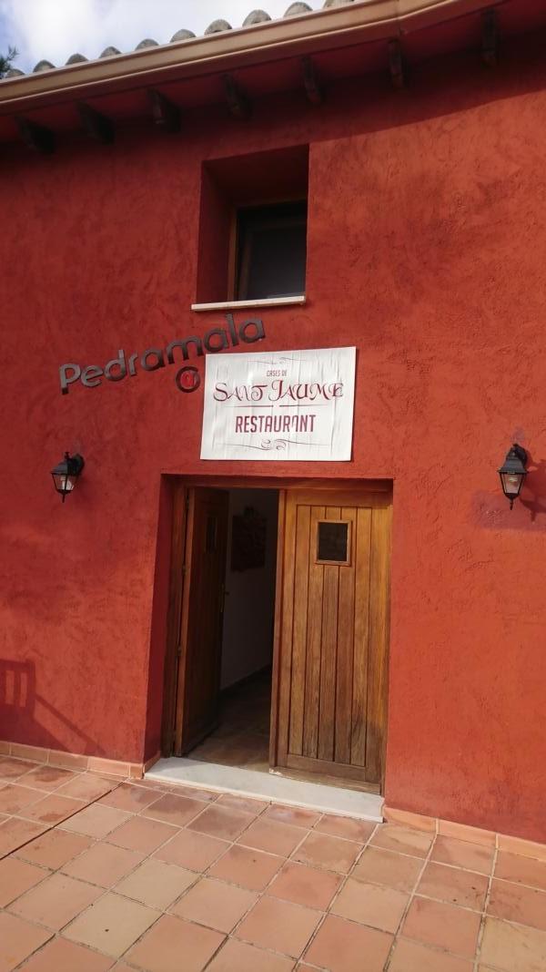Cases de Sant Jaume Restaurant Innenbereich