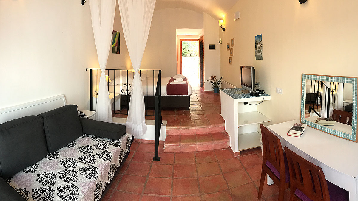 Appartements mit mediteranem Tonnengewölbe